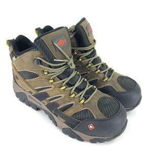 Men's Merrell Moab 2 Vent Composite Toe Boots 12